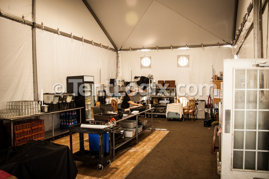 Temporary Kitchen Tents : Temporary clubhouse tent rental tentlogix
