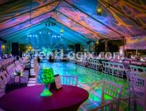Pool Cover Dance Floor, Tampa FL