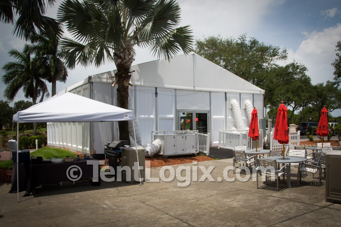 Temporary Golf Clubhouse Tent Rental Tentlogix