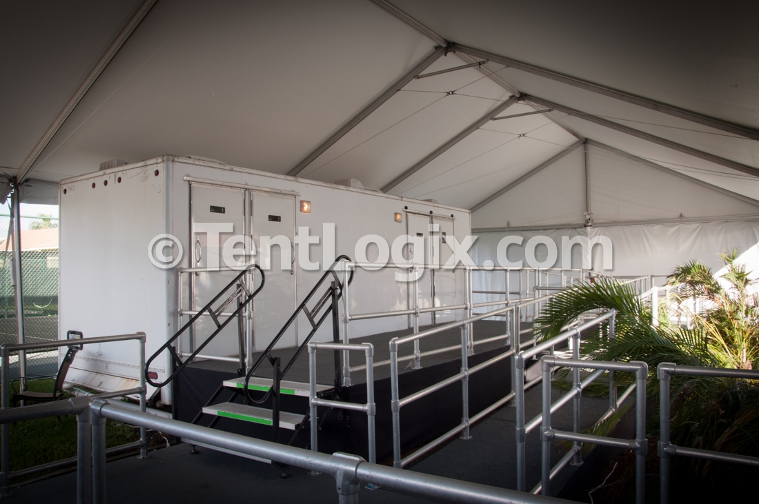 Clear Span Tent Rental & Long Term Clear Span Tent Rental for Venue Renovation | Tentlogix
