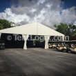 Clear Span Tent - Golf Cart Storage