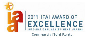 Tampa Commercial Tent Rental Award