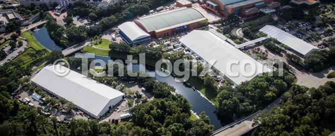 Tradeshow Tent Rental - Orlando