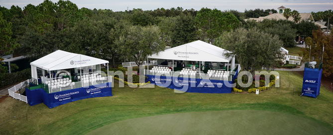Golf Course Tents - Orlando