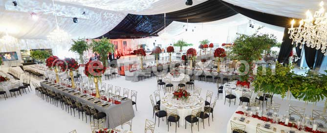 tampa wedding tent rental
