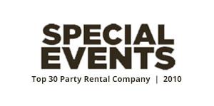 Top 30 Tampa Tent Companies Award -