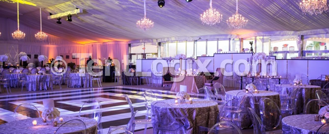 tampa wedding tents