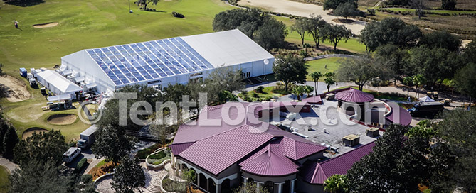 golf resort tent rental