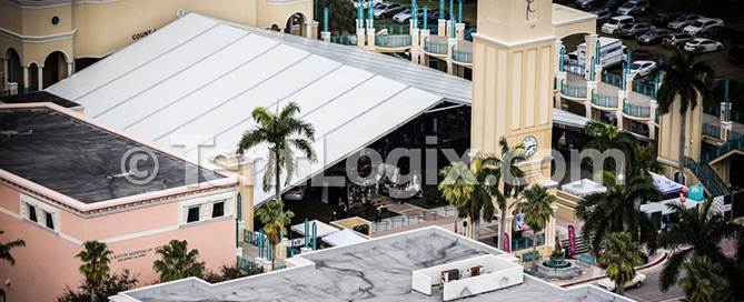 temporary venue tent rental