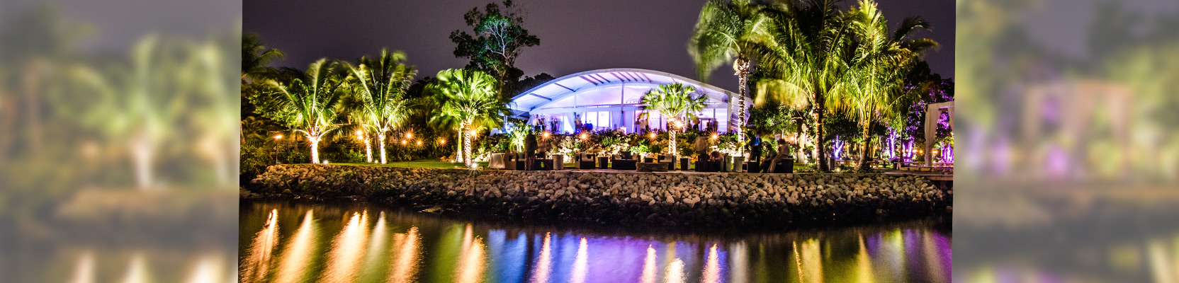 wedding tents and lighting