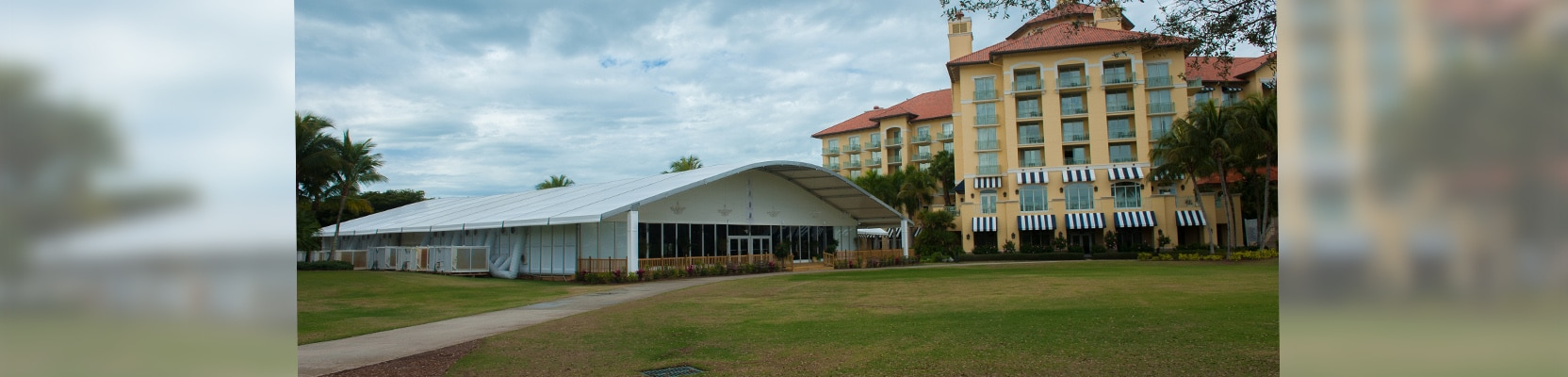 long-term clear span tent rental