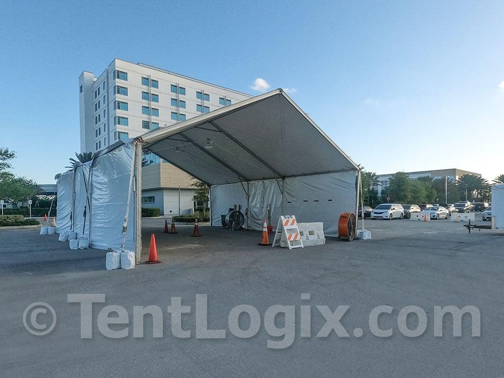 covid-19 testing tents